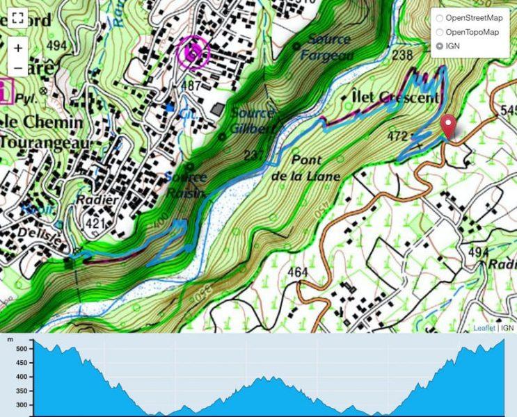TP Parcours Sentier Dassy Trail Péi