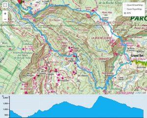 TP Parcours Tour de la Marianne depuis Dos d'Ane Trail Péi