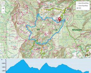TP Parcours Tour du Piton des Neiges par le GRR1 Trail Péi