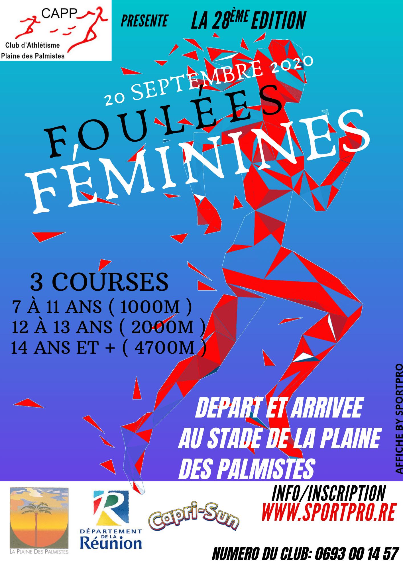 Affiche-Foulees-Feminines-Plaine-2020