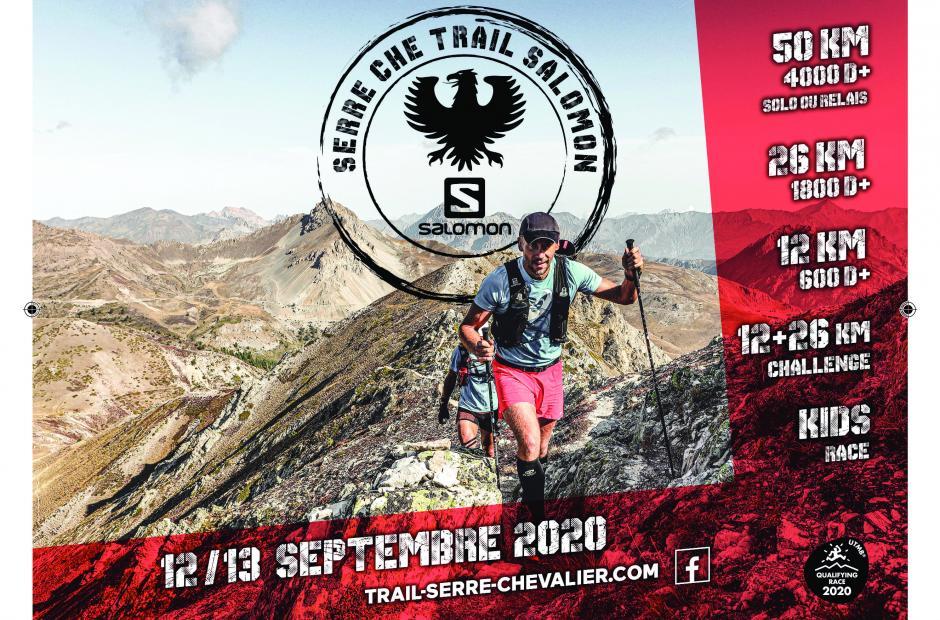 Affiche-Serre Che Trail Salomon 2020