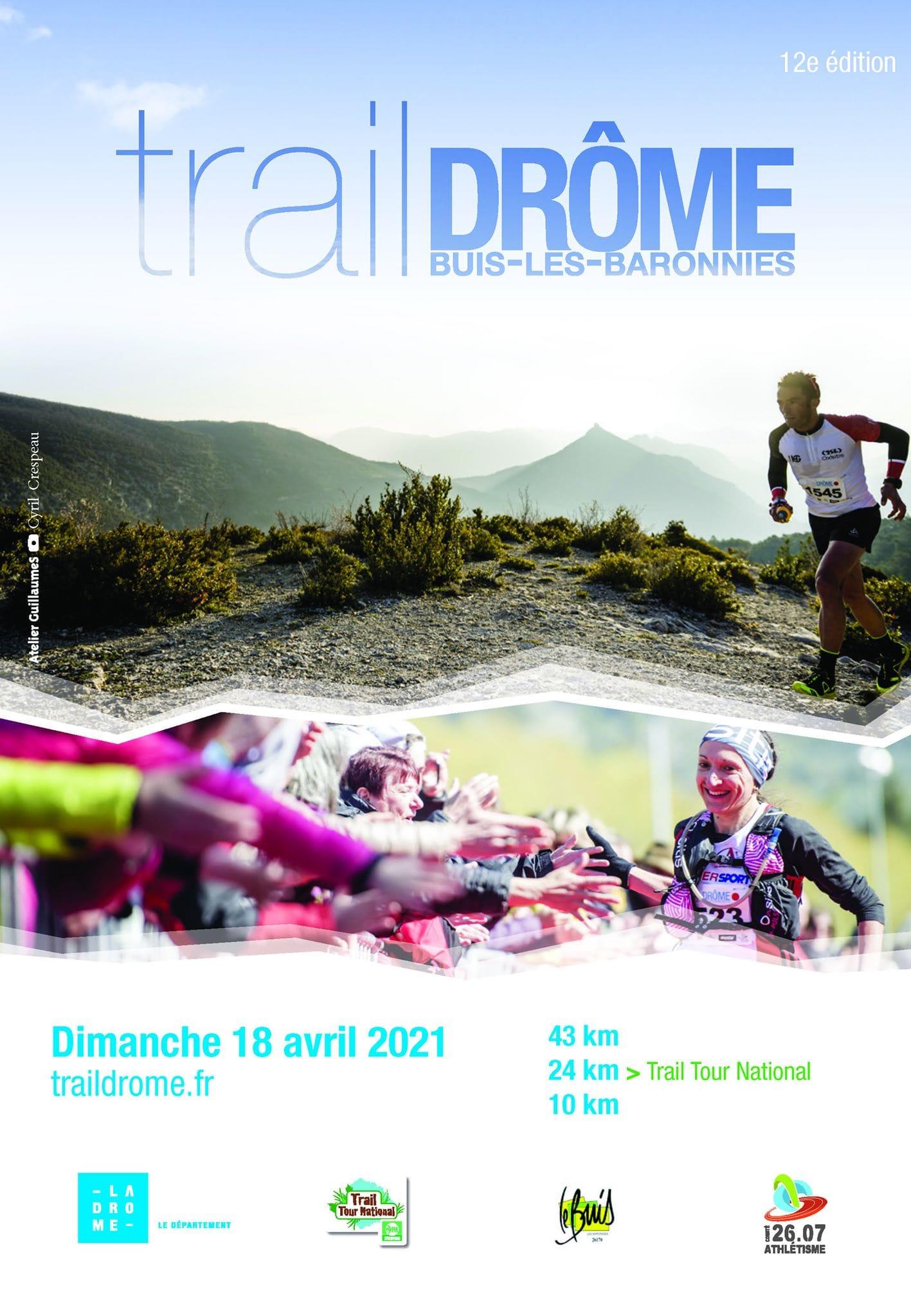 Affiche-Trail-Drome-2021