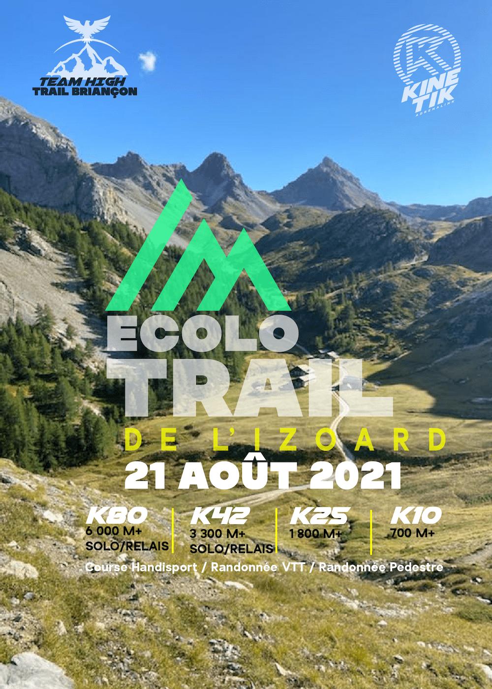 Affiche-Ecolo Trail de l'Izoard 2021