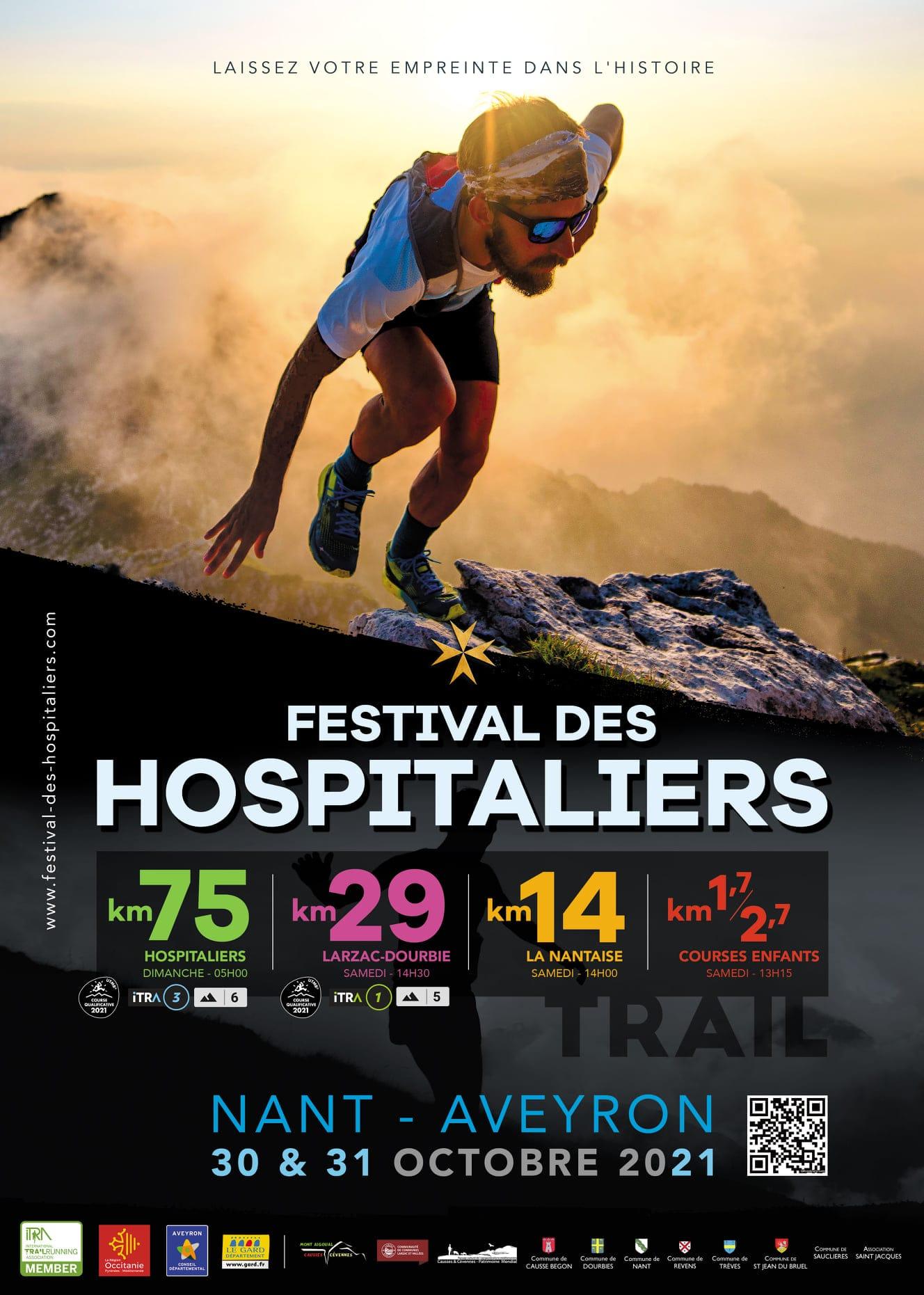 Affiche Festival des Hospitaliers 2021