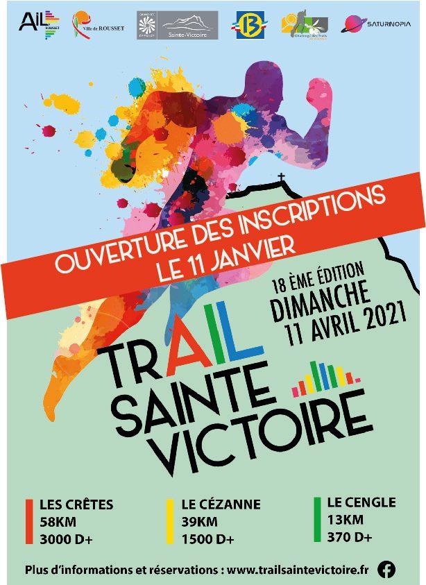 Affiche-Trail Sainte Victoire 2021