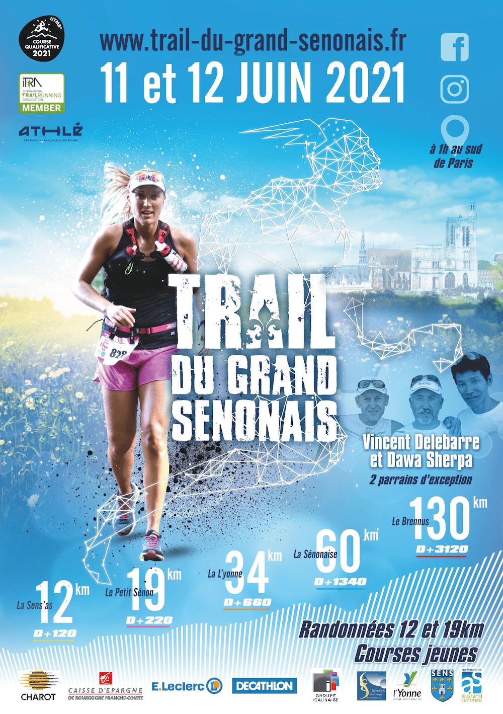 Affiche-Trail du Grand Sénonais 2021