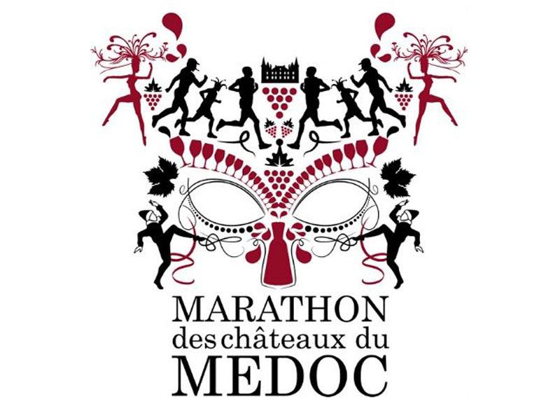 Logo-Marathon des Châteaux du Médoc