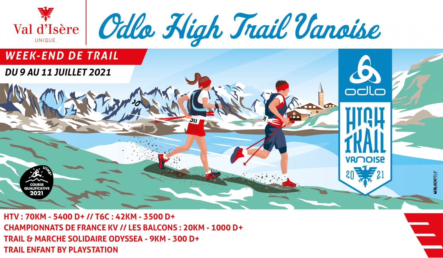 Calendrier Trail 2021 France High Trail Vanoise 2021 (Champ) | Trail Péi