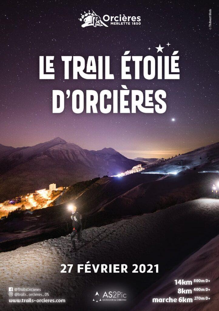 Affiche-Trail Etoilé d'Orcières-21