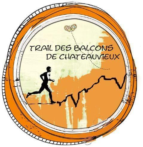 Logo-Trail des Balcons de Châteauvieux