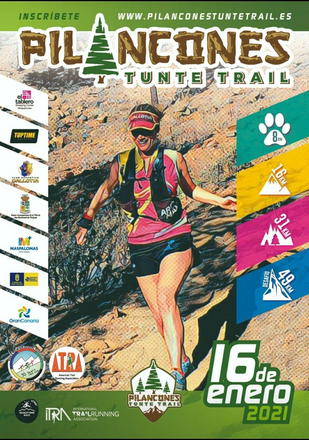 Affiche-Pilancones Tunte Trail 2021