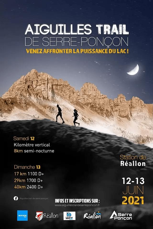 Affiche-Aiguilles Trail de Serre-Ponçon 2021