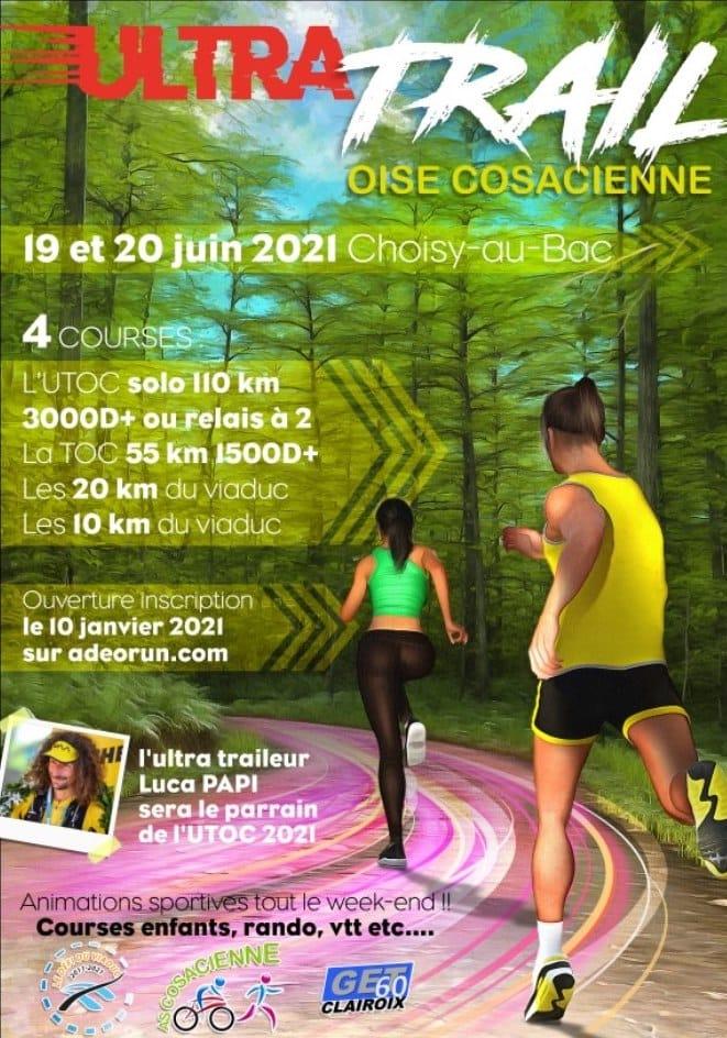 Affiche-Ultra Trail Oise Cosacienne UTOC 2021