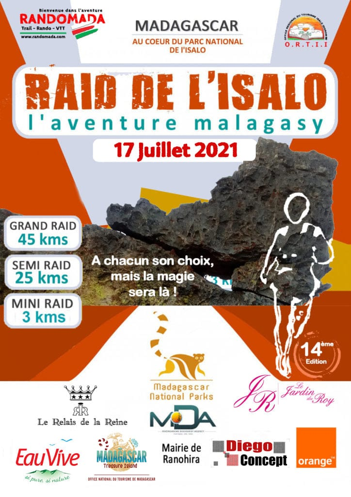 Affiche Isalo Raid 2021