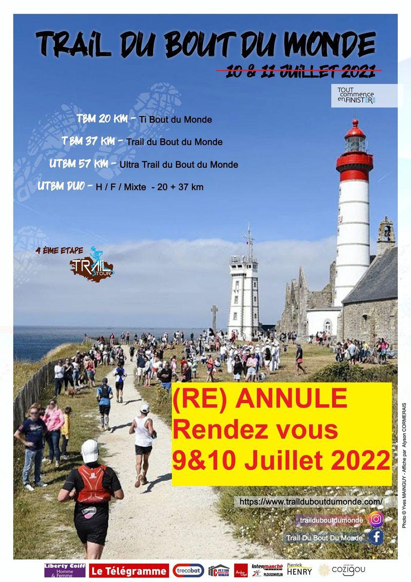 Calendrier Trail 2022 France Trail du Bout du Monde 2022 | Trail Péi