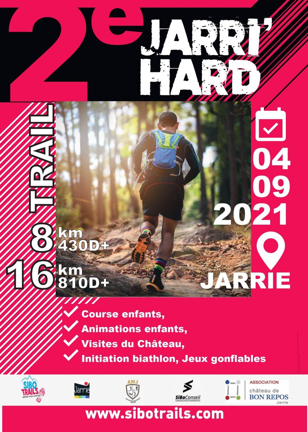 Affiche-La Jarri'Hard 2021