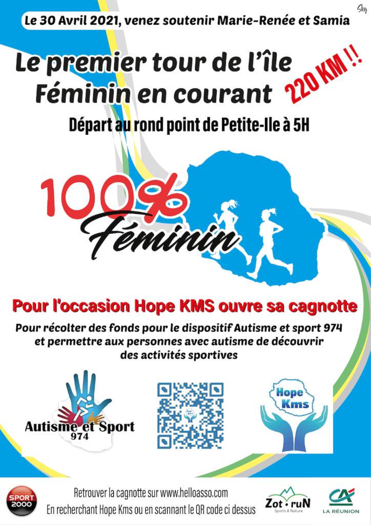 Affiche-Tour de l'Ile Féminin 2021