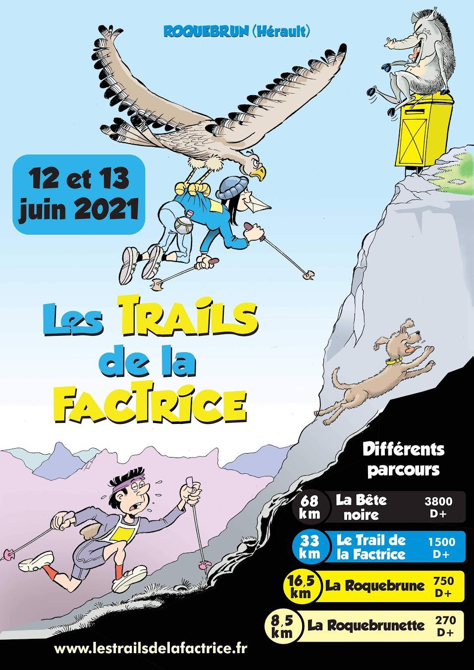 Affiche-Trails de la Factrice 2021