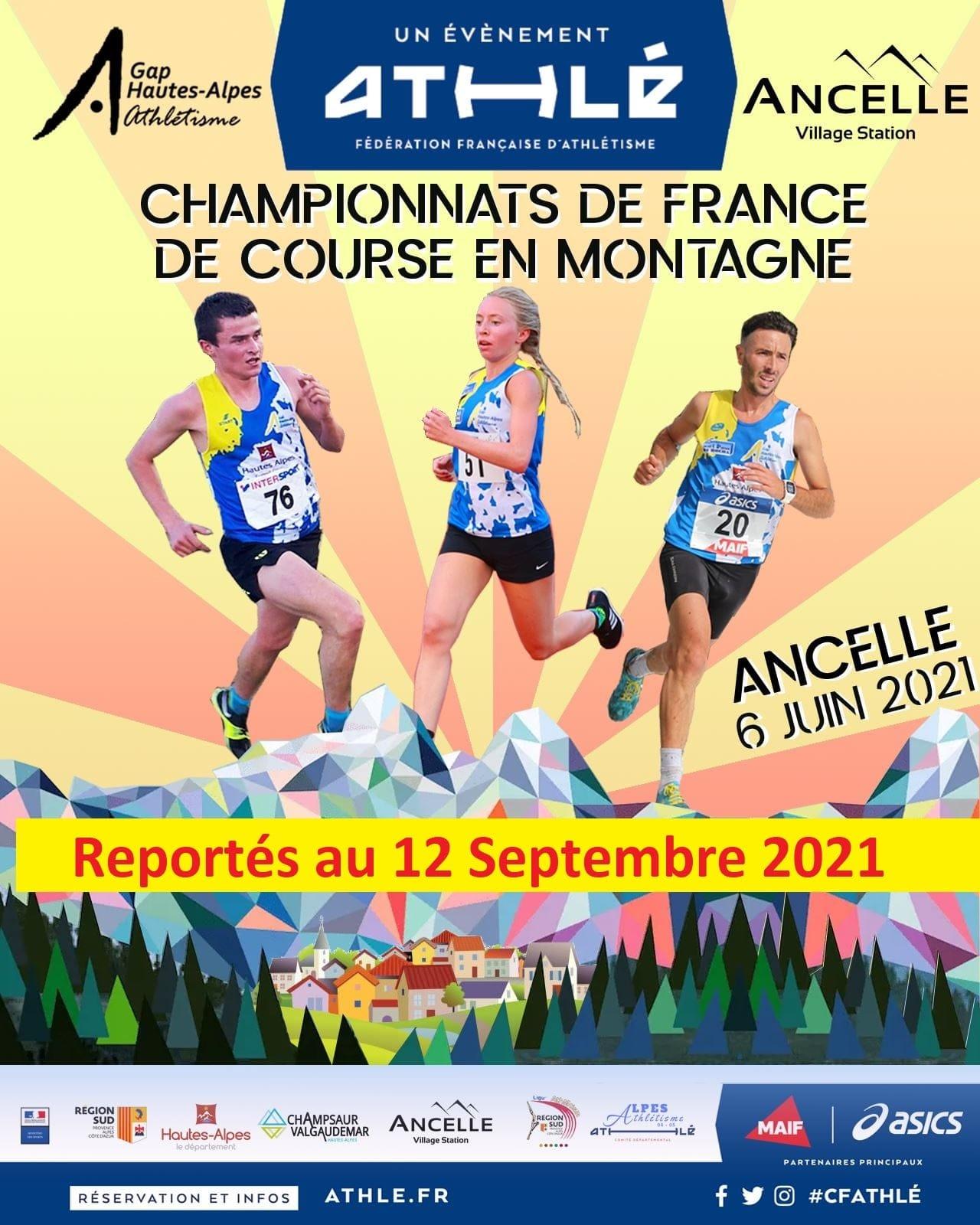 Championnat de France de course en montagne 2021