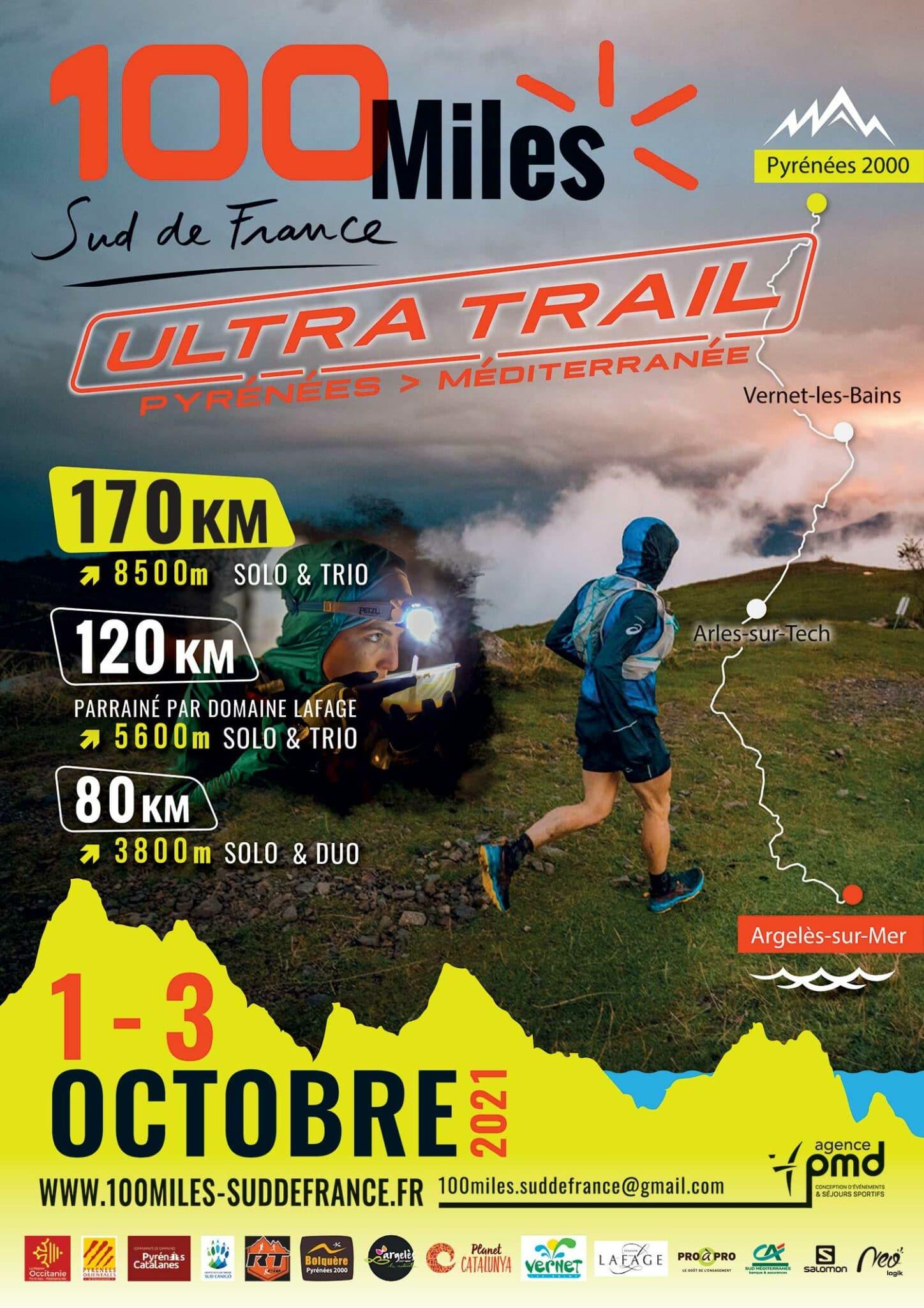 Affiche-100-Miles-Sud-de-France-2021