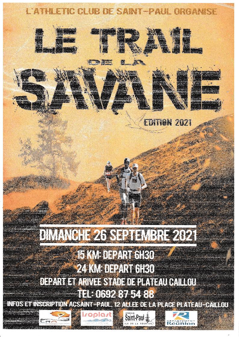 Affiche-Trail de la Savane 2021