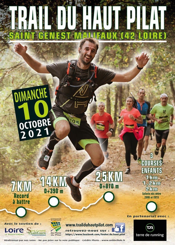 Affiche Trail du Haut Pilat 2021