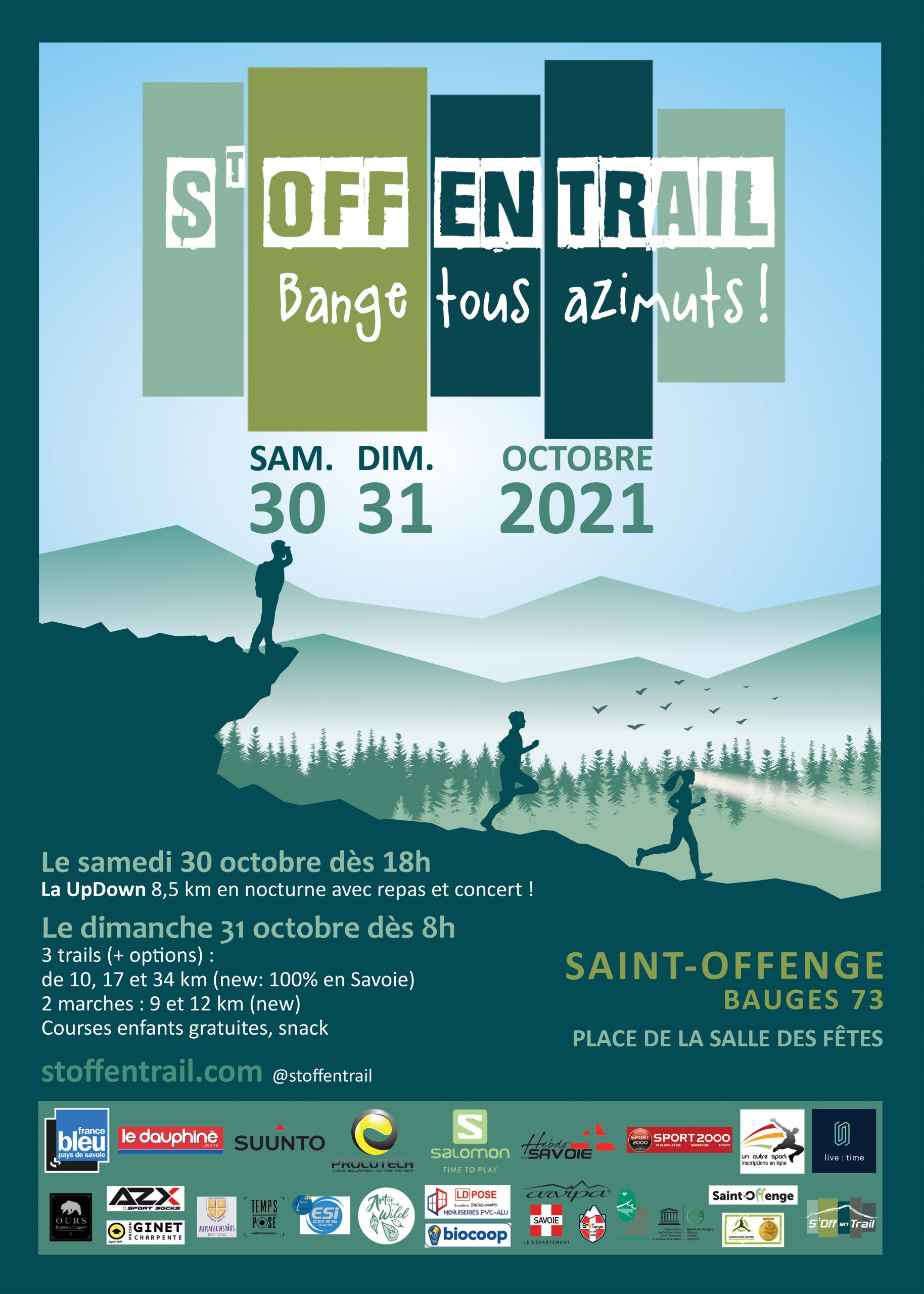 Affiche St Off en Trail 2021